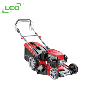 LEO 3 In 1 Discharge Gasoline Self-propelled Lawn Mower Grass Cutter Lawnmowers