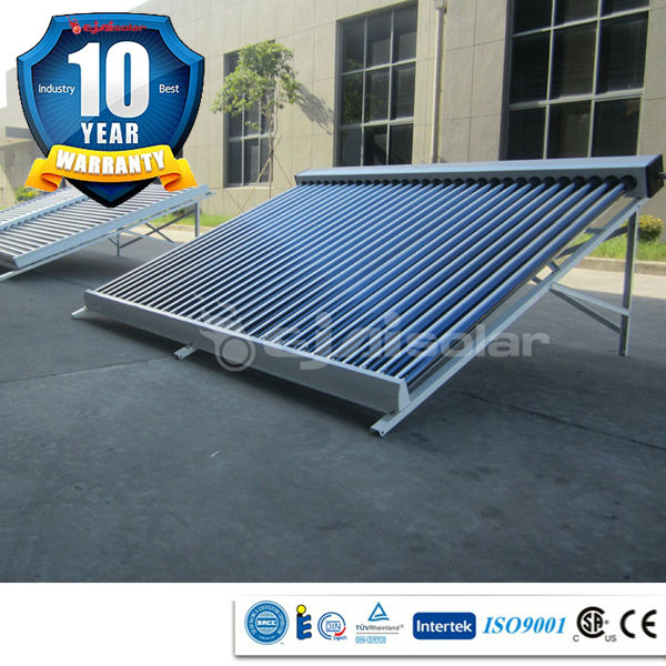 300L hot water per day efficiency 93-96% solar pool heater, vacuum tube solar collector
