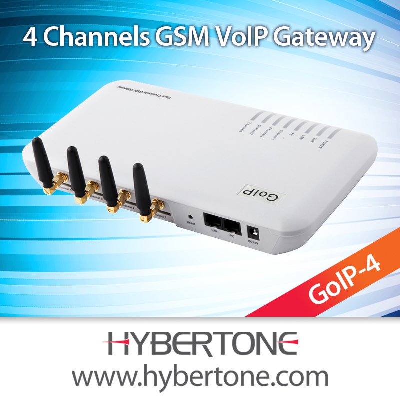 voip reseller, 4 ports sims gsm gateway,