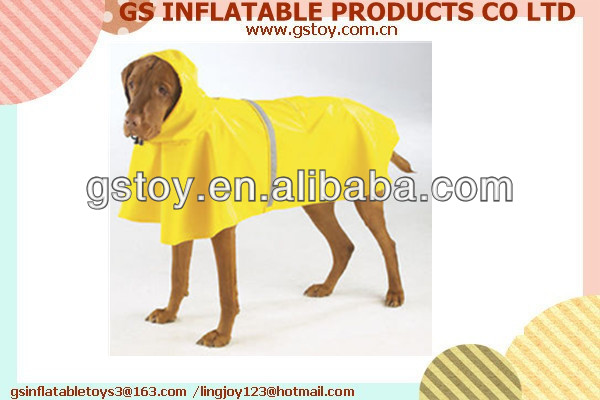 PVC raincoats for dogs EN71 approved