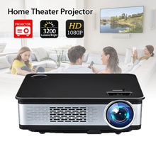 hd led high lumen projector 3200 lumens home theater beamer proyector with hdmi av sd vga