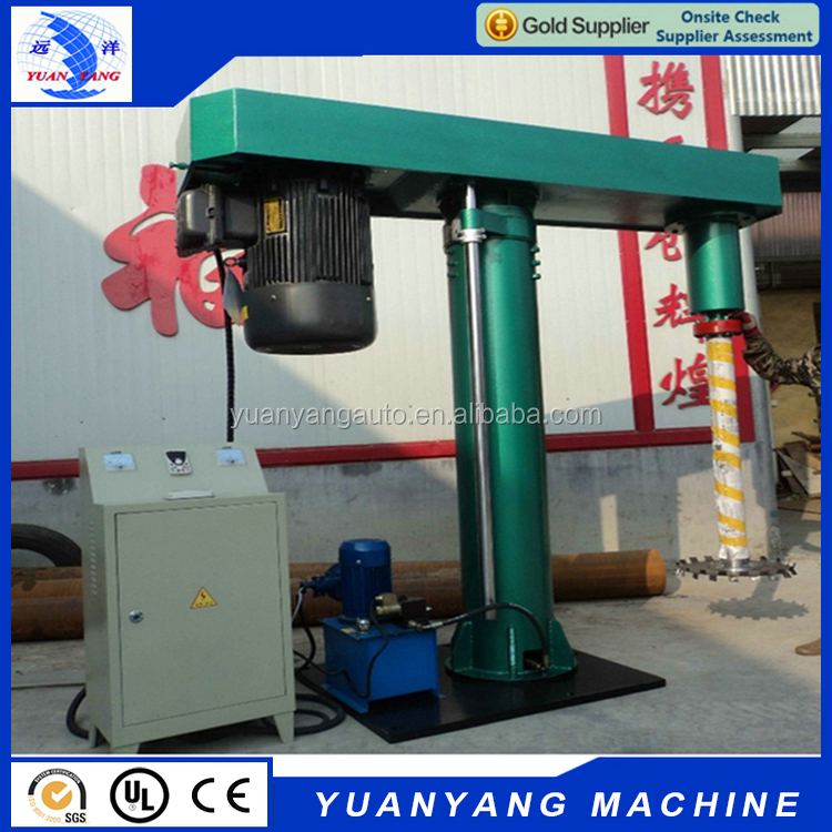 Factory directly provide 22 KW hydraulic lift high speed ink Disperser machine