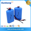 SUNB 18650-5200mah li-ion battery pack for Flashlight/led lamps/ traffic signs/portable small appliances