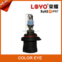 2015 new arrival Auto lights color eye changing hid bulb 4300k 8000k 35w 55W AC with h1 h4 h7 9006 9005