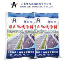 highly reflective white thermoplastic road marking paint / hot melt road paint