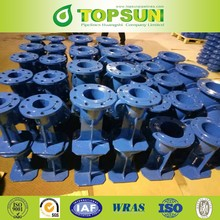 ductile iron ISO2531 double flanged duckfoot bend 90 degree
