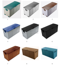 Plastic large outdoor toy storage box