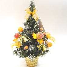 wholesale cheap 30cm pre decorated live christmas trees
