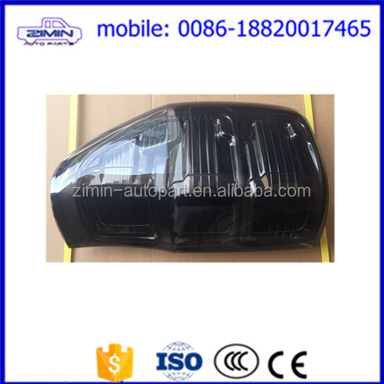 Zimin High Quality factory price Auto tail lamp car tail ligh for Ranger 2012 Ranger rear tail lamps lights smoked color