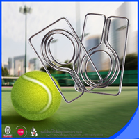 Tennis club creative paper clip for gifts tennis racket mini paper clip