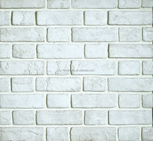 white brick veneer for exterior and interior