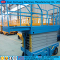 extensible table mobile scissor lift with extend platform