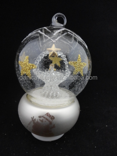 Wholesale led crystal magic ball light for christmas decorations