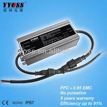 12V 60W led driver power,waterproof power supply,led driver adapter ip67