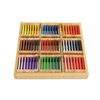 Popular Children Gift Montessori Wood Material Learning Color (3rd)Box