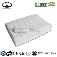 100% Polyester Non woven Washable Safety Electric Blanket
