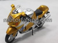 Suzuki gsxr1000 yellow Motorcycle model for home decoration