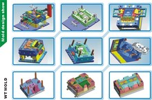 Plastic Products 3d Design/Plastic Injection Molds /Plastic Components Production