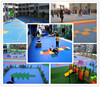Interlocking Pp Suspended Plastic Flooring For Basketball Court
