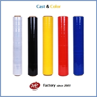 Color stretch film Jumbo roll/ mini roll
