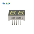 0.4 inch digit white color 2 digit mini led 7 segment led display for colck