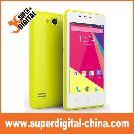 China factory 4inch unlocked Spreadtrum 7731 Quad core android 3G smart phone