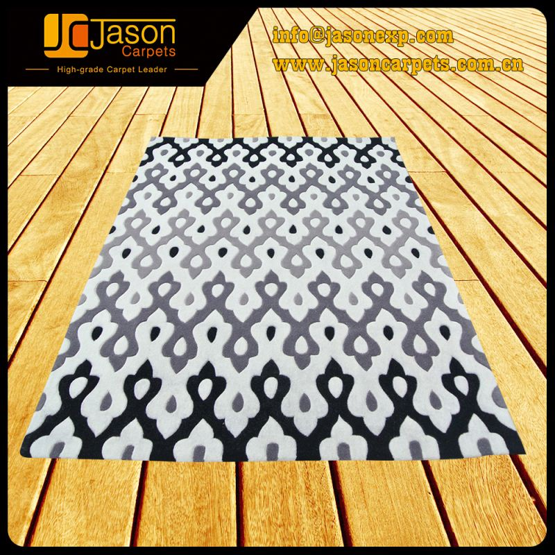 China Wholesale Durable In Use Custom Polyester Hand Tufted Carpet