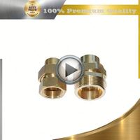 brass ptfe machined part