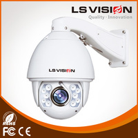 LS VISION infrared ip camera pan tilt zoom ip camera zoom lens surveillance internal 3mp 1080p ip poe camera