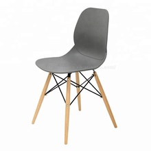 American style classic fancy beech wood plastic chair with pp seats