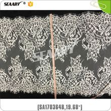 2017 China Wholesaler High Quality Spandex Hollow-Out Knitting Lace Fabric For Clothing