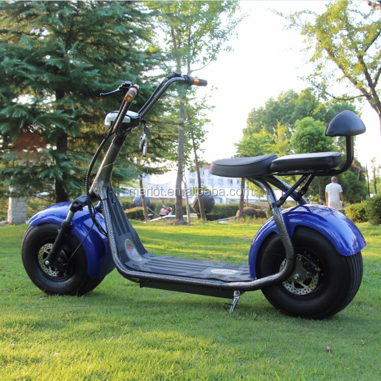 2017 800w citycoco electric scooter with ce/rohs