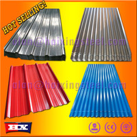 Hot selling Promotion goods/metal roof parts corrugated steel sheet