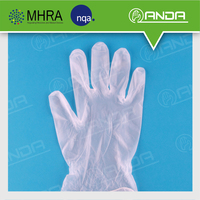 AD004 Health Use Pvc Disposable Glove