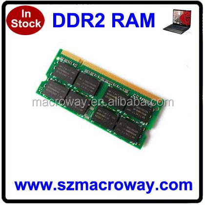 2x4GB 8gb pc2-6400 ddr2 sodimm 800mhz 200-pin memory ram