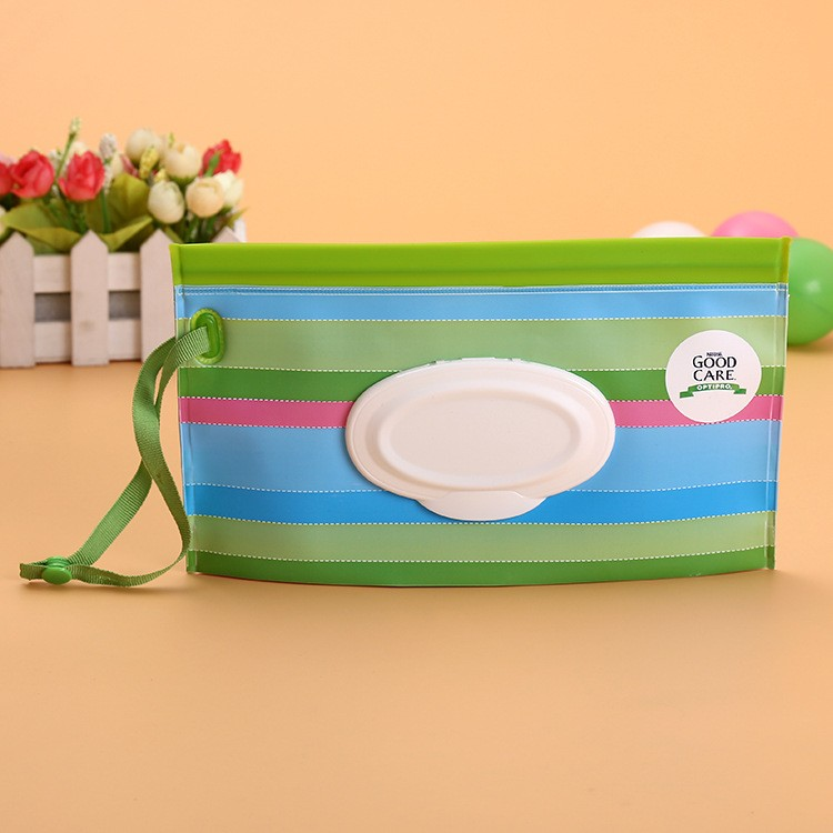 HSL004 Customized EVA plastic box for wet wipes baby tissue wet wipes box