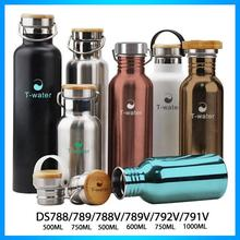 High quality hot sale custom logo stainless steel camping canteen with variety of design