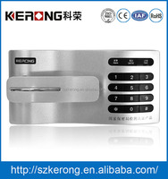 Electronic access combination cabinet lock for file lockers