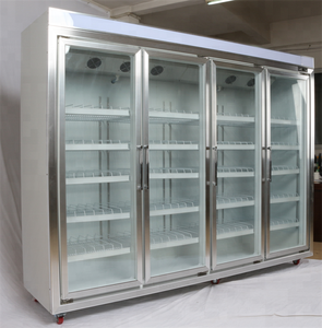 Remote control Supermarket refrigerator display storage room for Drinks