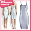 Wholesale printing Strap rayon kim kardashian red carpet dresses