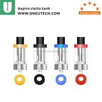 Aspire 2016 hot selling cleito atomizer tank Aspire cleito tank with dual clapton coil Aspire cleito