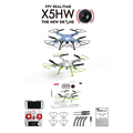 Original Heliway Drone With Camera 0.3Mp Mini Drone Rc Toys