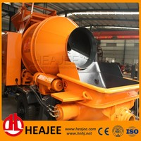 HEAJEE Small Portable concrete mixer with pump machine JBT40-8-45ES