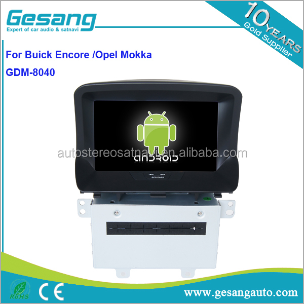 Gesang HD touch screen Car DVD player for Buick Encore /Opel Mokka with WiFi 3G