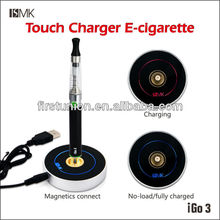 IGO3 hot selling model e-cigarette with clear cartomizer