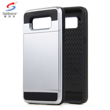Layer protective case mobile case phone accessories for samsung galaxy G530 with ID Card Slot