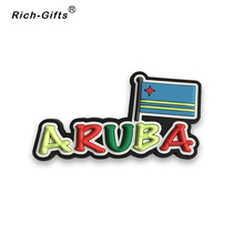 High Quality Aruba 3D Soft Rubber Souvenir Magnet Fridge Magnet