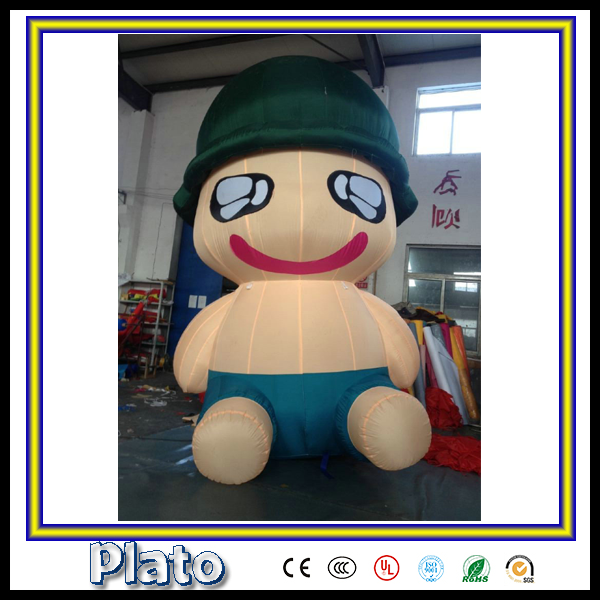 outdoor advertising material inflatable cartoon characters/ inflatable lovely toys for sale