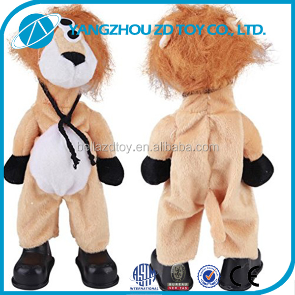 high quality funny plush electric kids toys