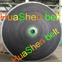 Quarrying Industry Abrasion Resistant China made Polyester Rubber Conveyor Belt